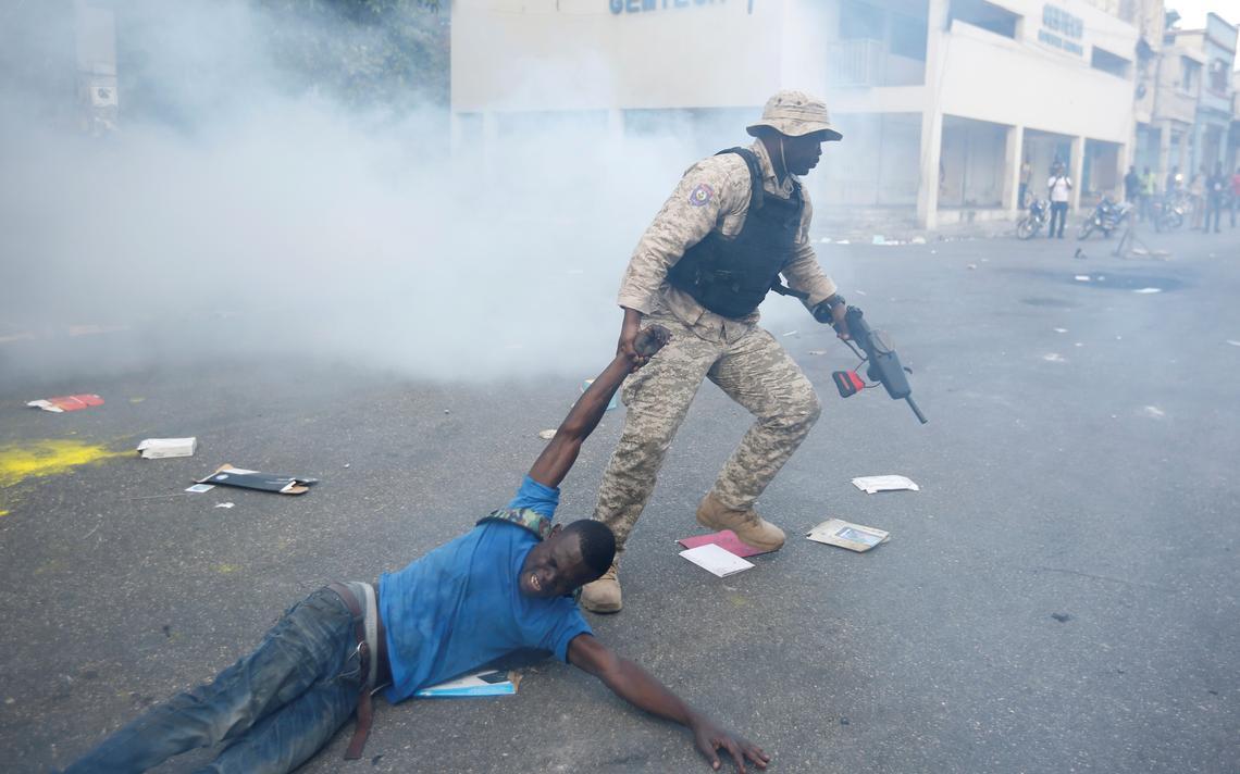 Protesto Haiti