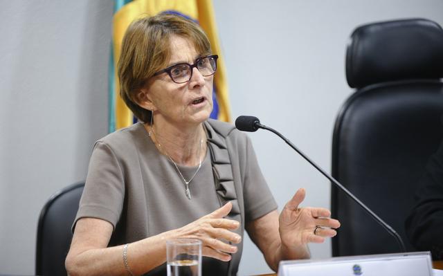 Helena Nader, presidente da Sociedade Brasileira para o Progresso da Ciência (SBPC)
