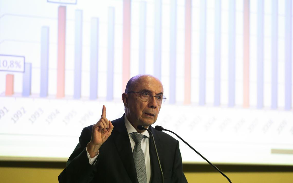 Henrique Meirelles, ministro da Fazenda