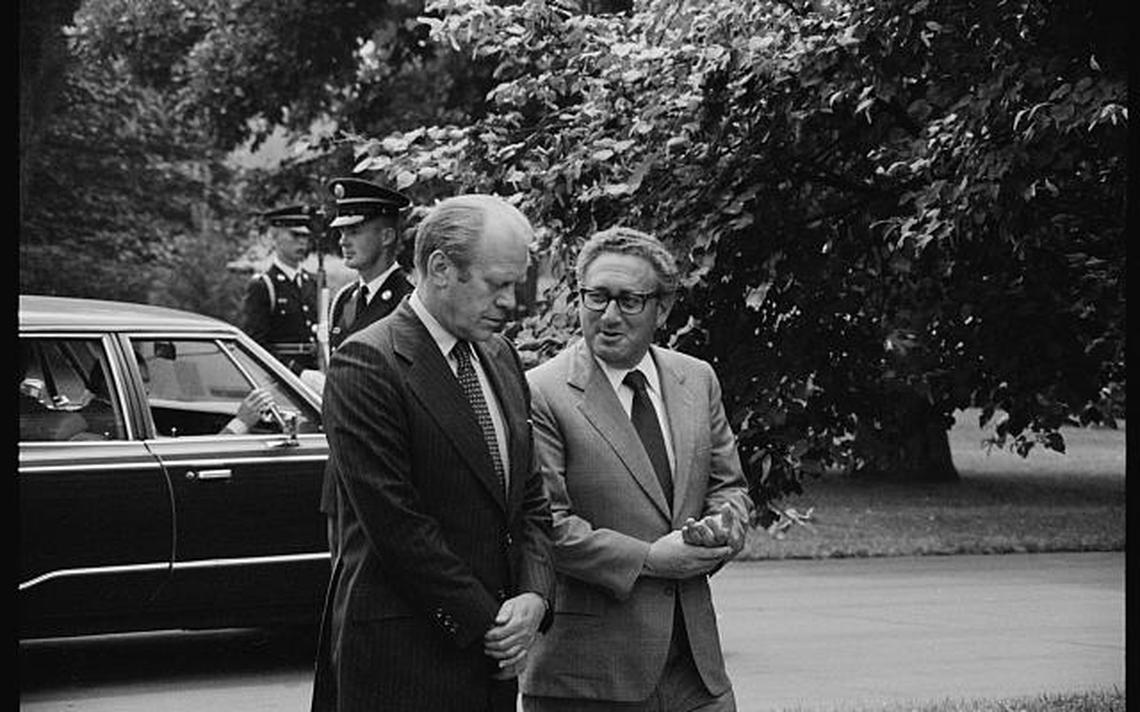 Ford Kissinger