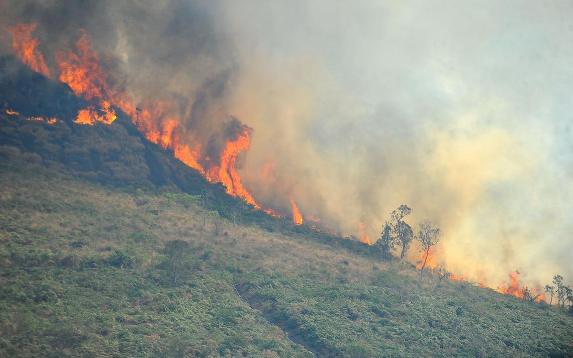 Incêndio no Estado do Rio de Janeiro
