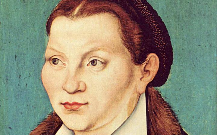 Retrato de Katharina von Bora.