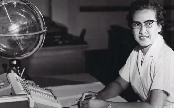 A mulher que calculou as rotas da chegada do homem à Lua