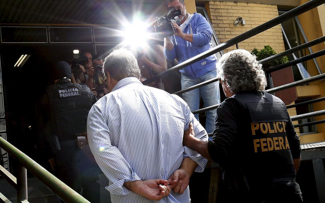 Prisão do ex-senador Gim Argello na Lava Jato
