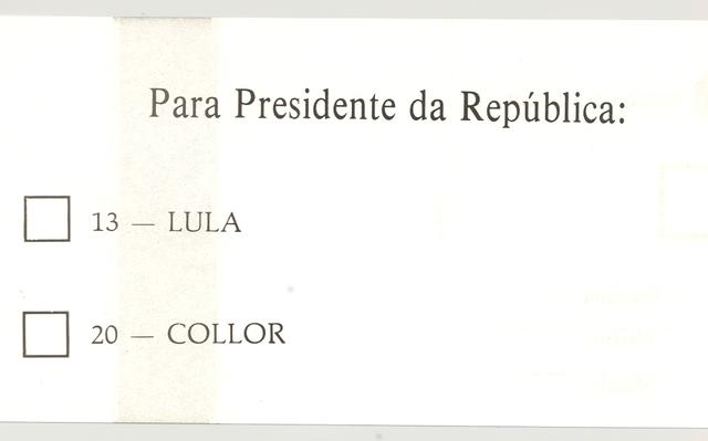 As Eleições Brasileiras No Tempo Da Cédula De Papel Nexo