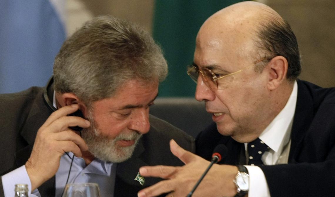 Lula e Henrique Meirelles