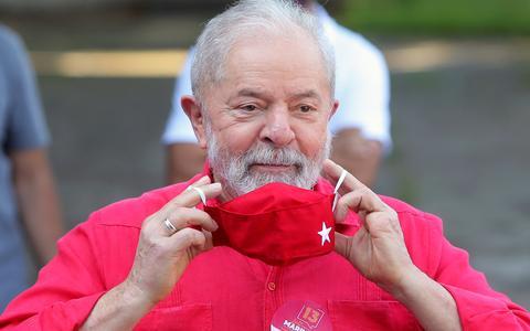 Pesquisa mostra Lula com 40% dos votos contra 24% de Bolsonaro