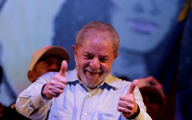 Ex-presidente Lula durante evento no Rio de Janeiro