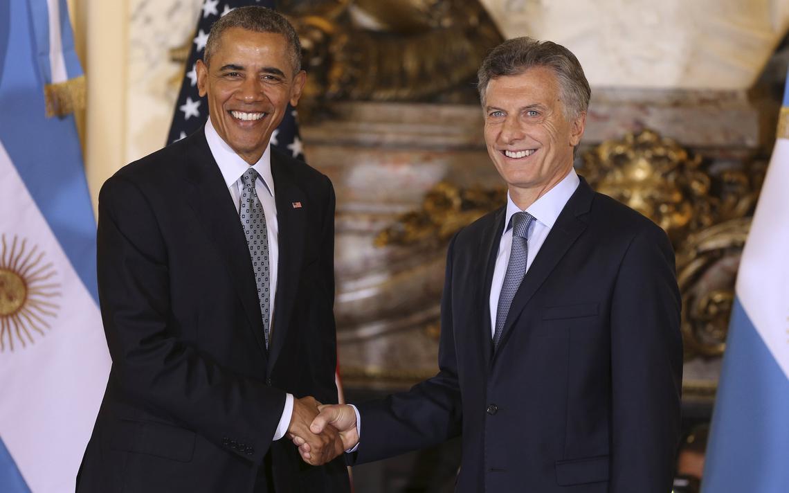 Encontro Macri e Obama