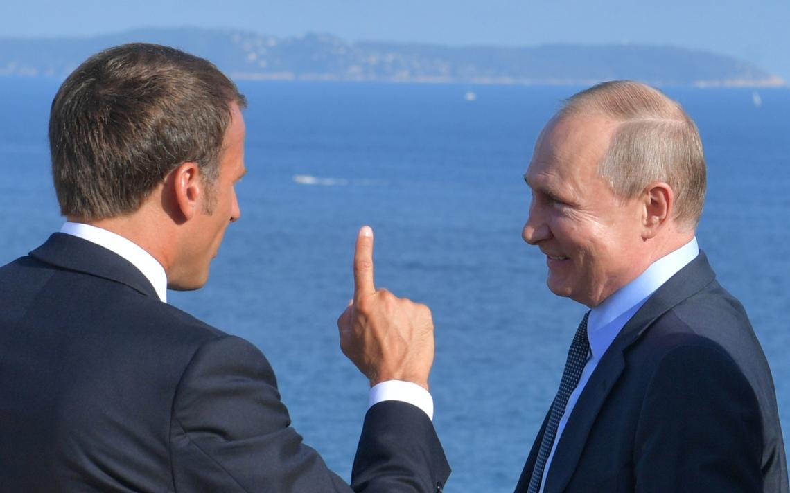 Macron_Putin
