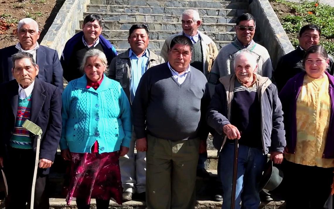 Mapuches especializados na cura de ossos, representados em documentário, no Chile