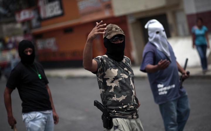 Gangues contra os maras na Guatemala