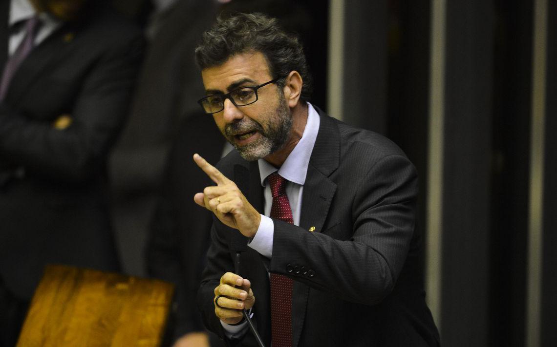 Marcelo Freixo, que presidiu a CPI das Milícias no Rio em 2008 fala no Congresso em 2019