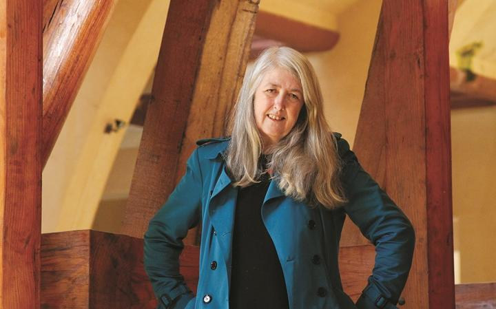 A historiadora Mary Beard