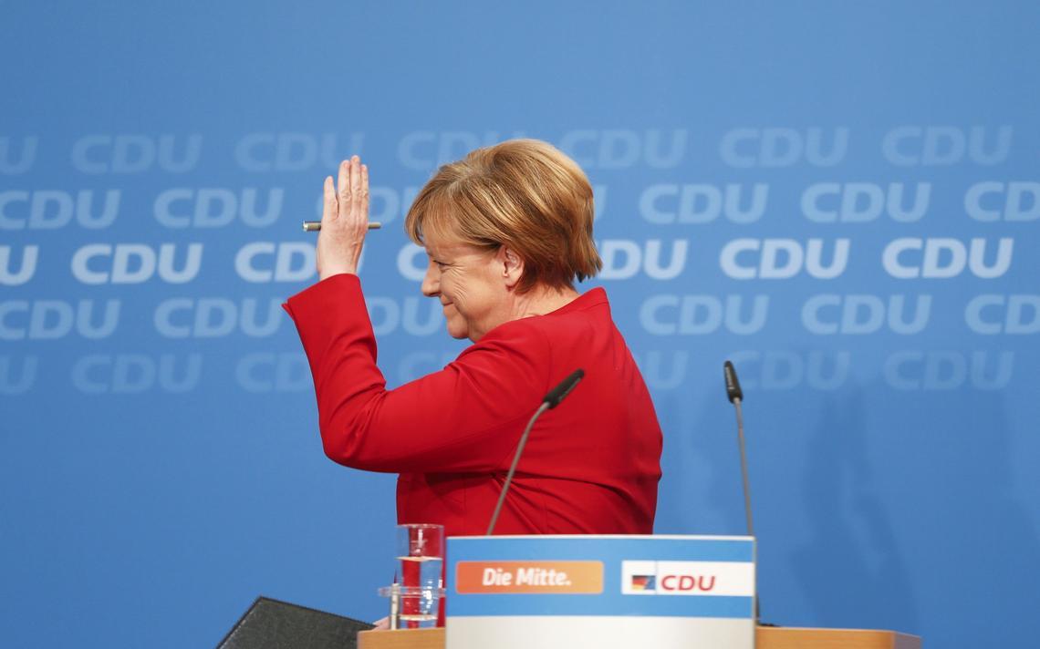 Merkel em entrevista coletiva