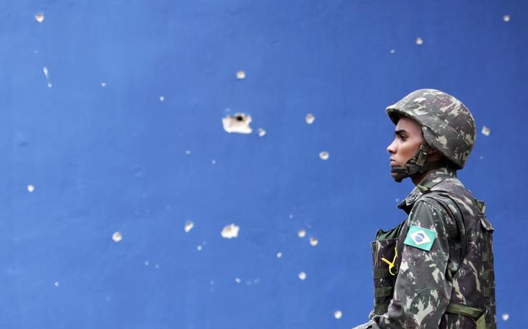 Militar no Rio