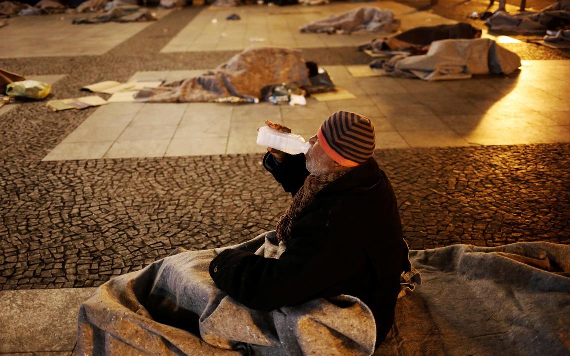 Moradores em situação de rua