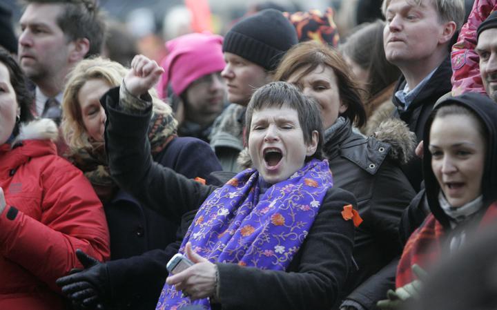 Mulheres protestam na Islândia; país é considerado o mais igualitário para mulheres no mundo