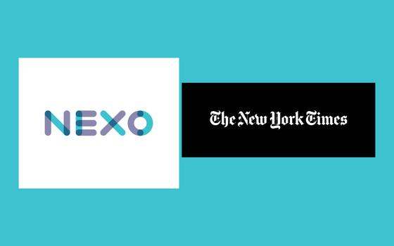 'Nexo' e New York Times fazem parceria para oferecer assinaturas