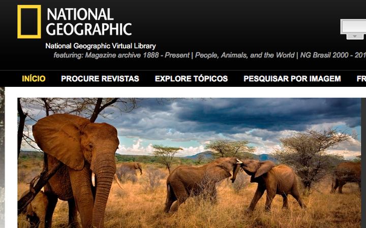 Resultado de imagem para O acervo da National Geographic foi digitalizado. E está aberto