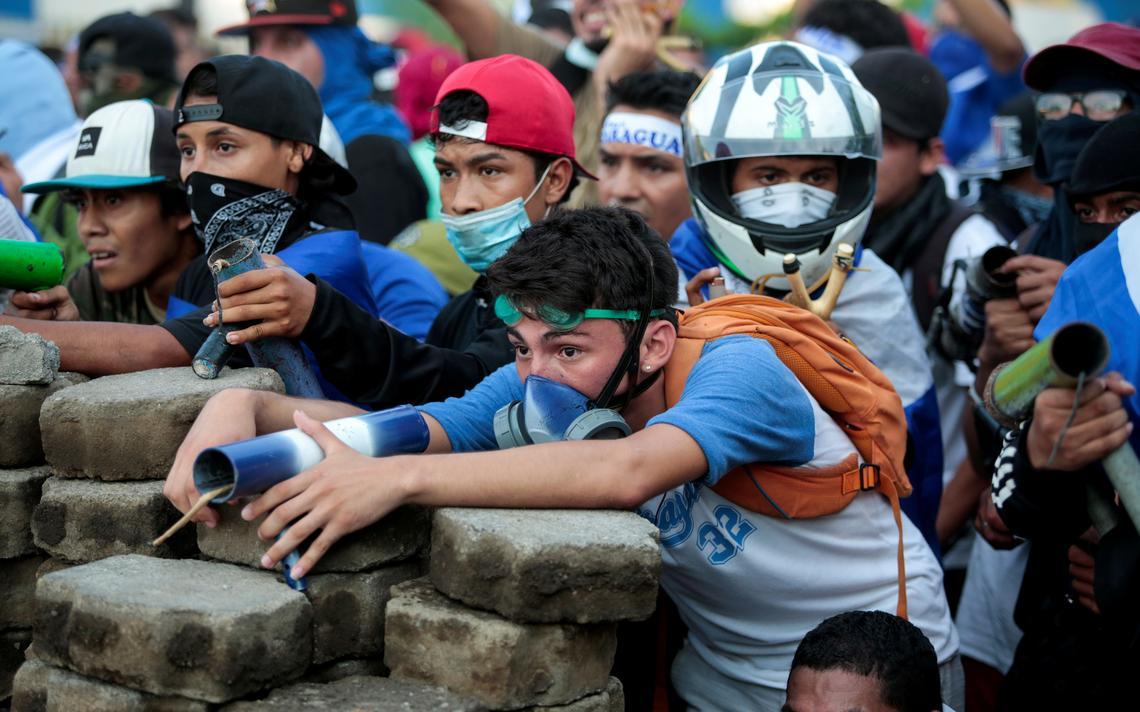 Protesto Nicarágua