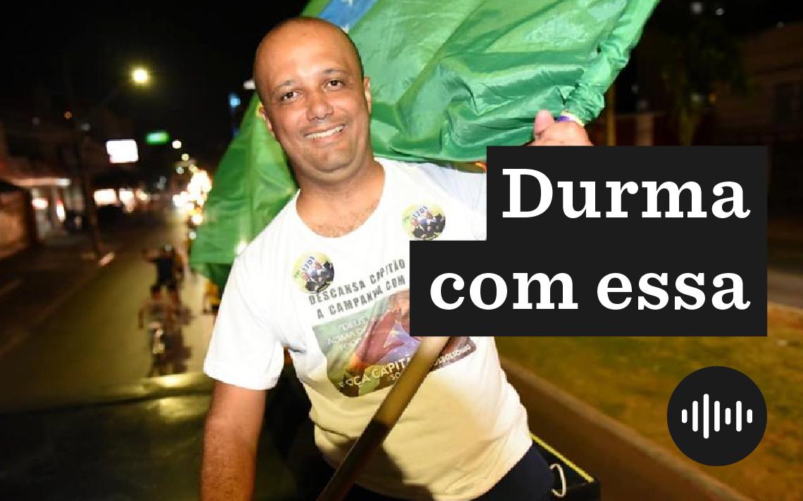 O deputado federal Major Vitor Hugo (PSL)