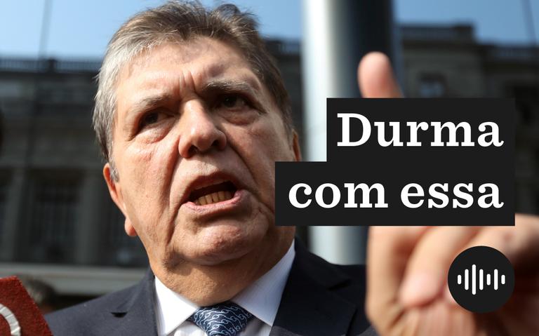 O ex-presidente peruano Alan García, que se suicidou em Lima