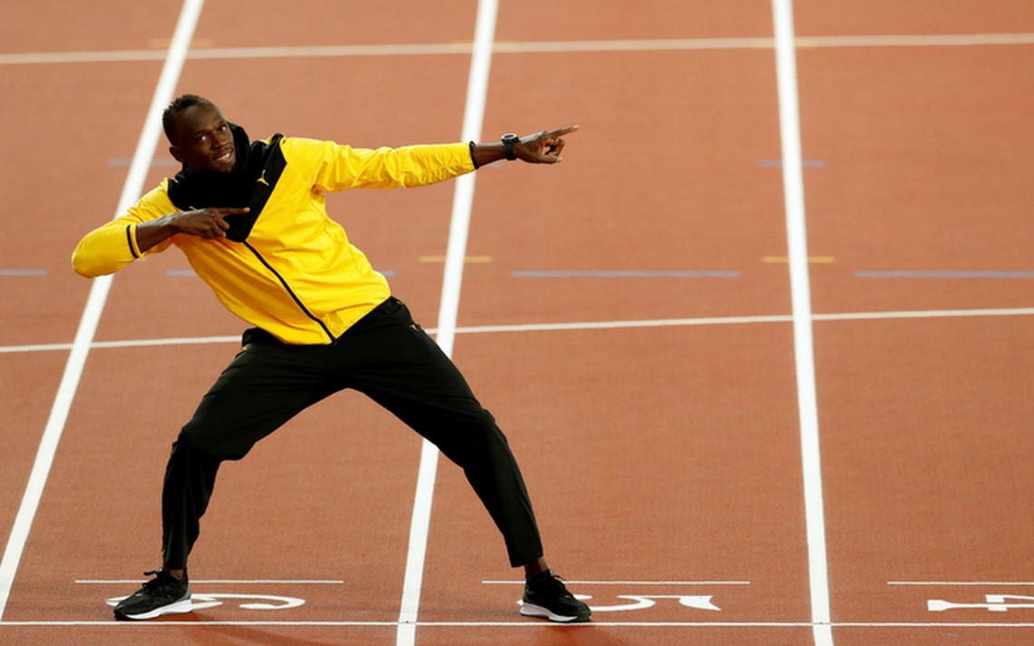 O velocista Usain Bolt