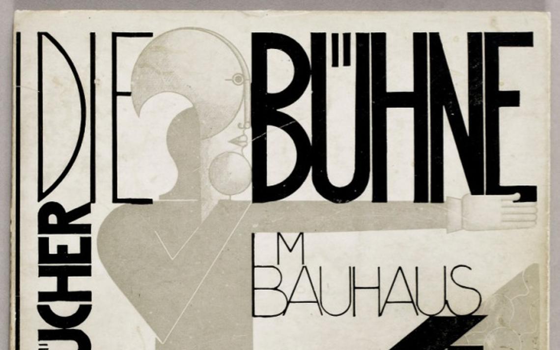 'Die Buehne im Bauhaus', de 1924, 'O palco na Bauhaus', em uma tradução livre