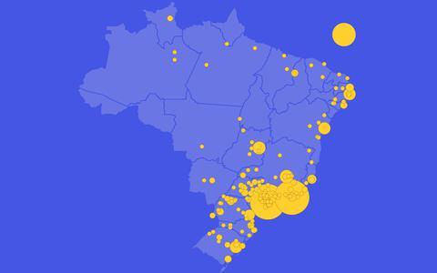 Qual o estado de origem dos atletas olímpicos brasileiros