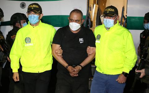 Colômbia captura narcotraficante mais procurado do país