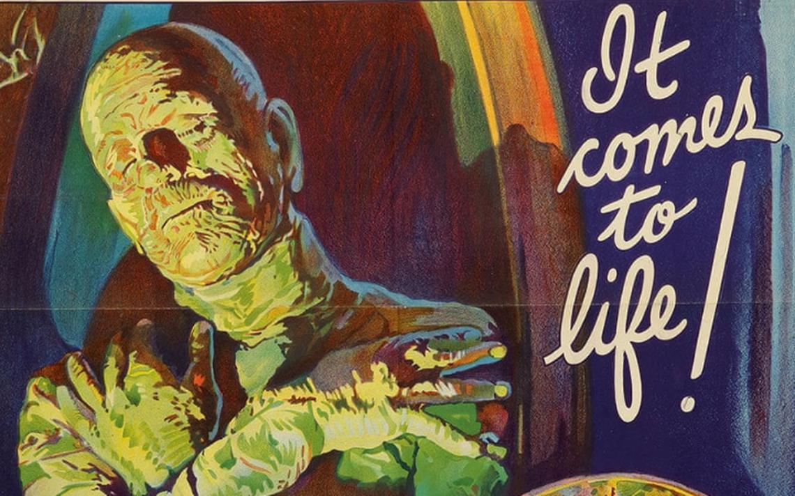 Pôster de 'A Múmia', de 1932