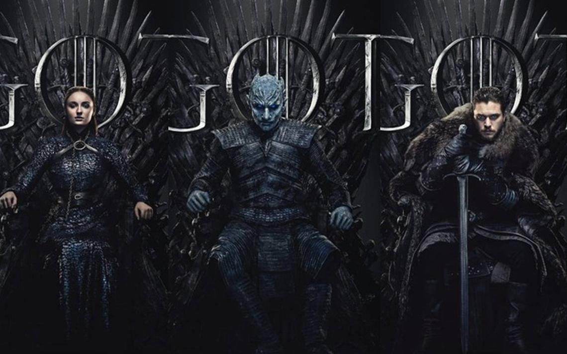 Pôster oficial da oitava temporada de 'Game of Thrones'