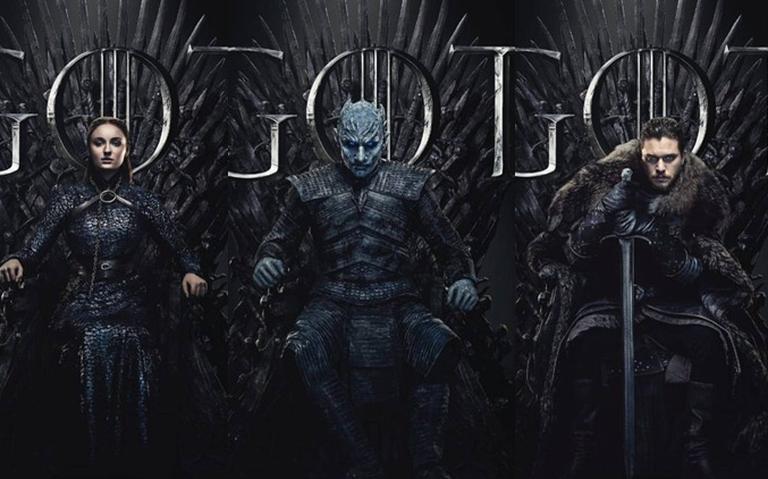 Pôster oficial da oitava temporada de 'Game of Thrones'