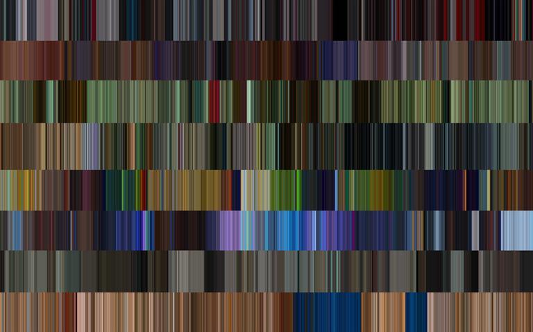 Paleta de cores de filmes - interativo