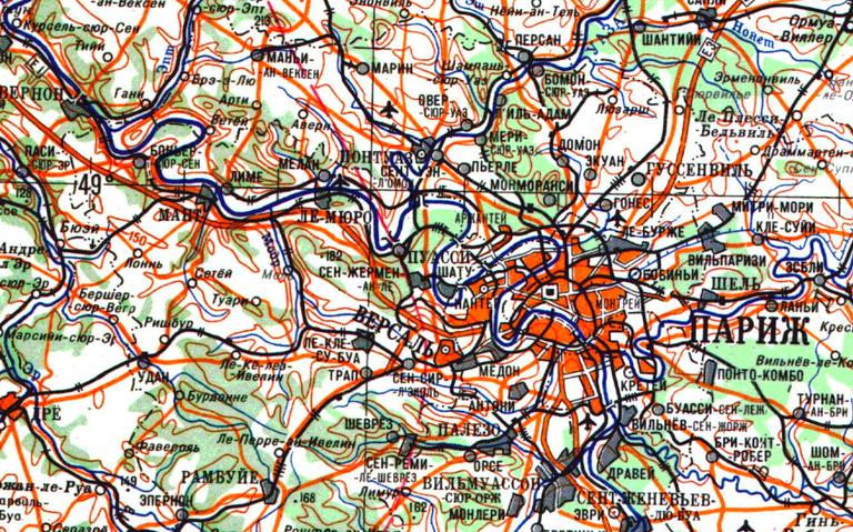 Paris, livro Red Atlas