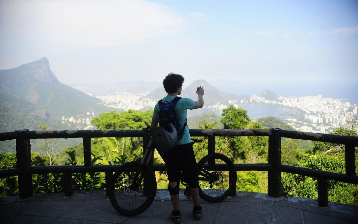 Mirante no Parque Nacional da Tijuca (2015)