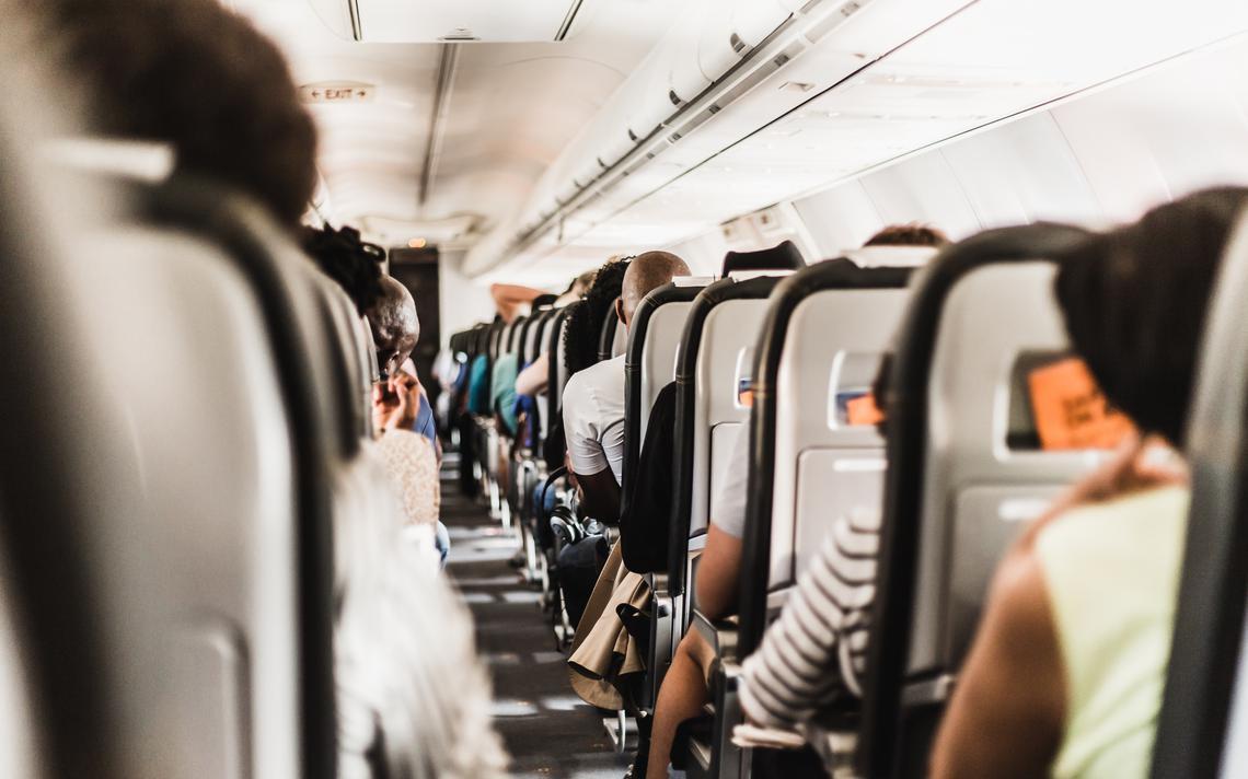 Pesquisadores acompanharam presencialmente 1540 passageiros, em 10 voos comerciais dos Estados Unidos