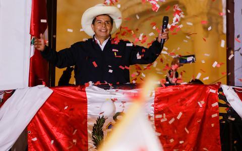 Justiça peruana declara Pedro Castillo presidente do país