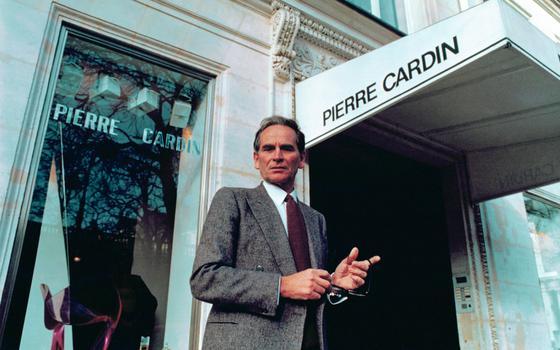 4 inovações de Pierre Cardin no universo da moda