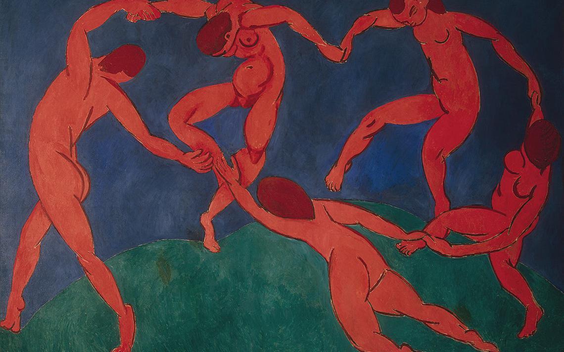 Pintura 'A dança', de Henri Matisse