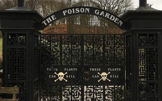 Quais plantas estão no jardim mais venenoso do mundo