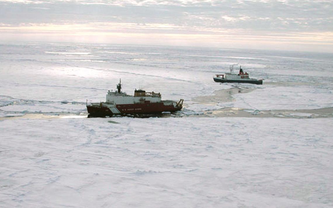 O navio alemão Polarstern, que visitou a região em 2007, uma década antes do descolamento mais recente