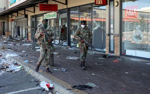 Protestos violentos na África do Sul têm saldo de 72 mortos