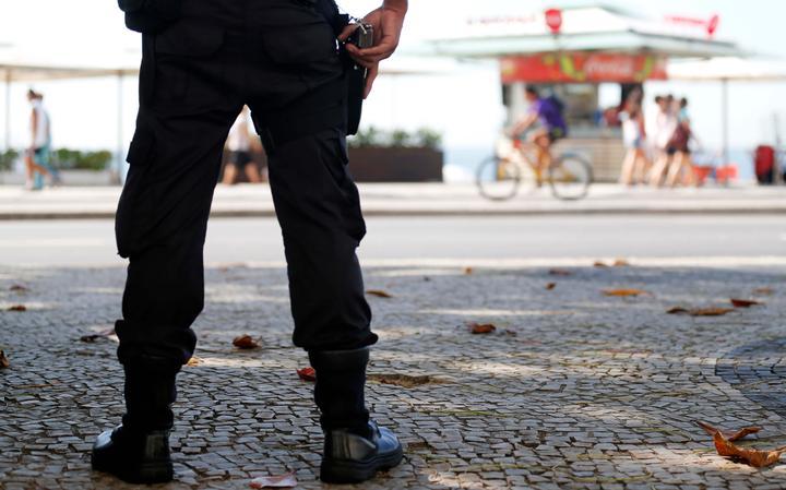 Policiamento em Copacabana