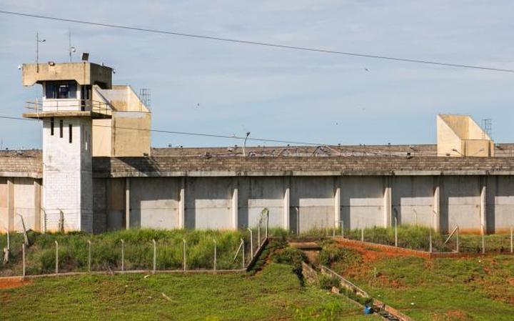 Penitenciária de Presidente Venceslau, uma das prisões de segurança máxima do Estado de São Paulo