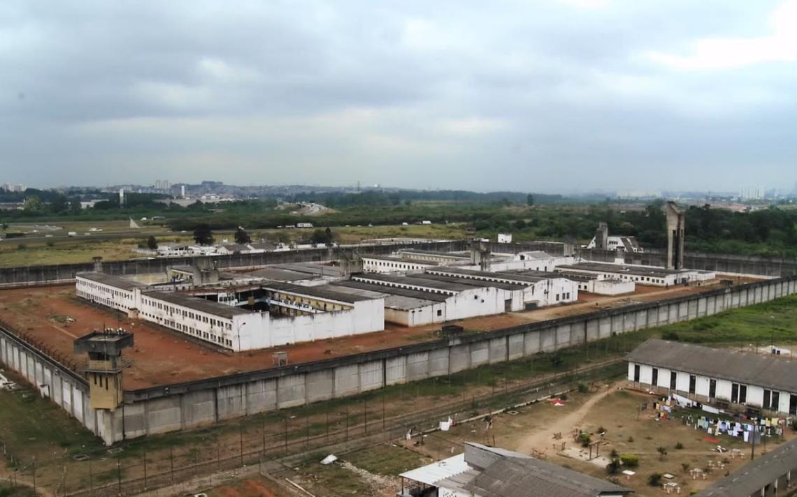 Imagem de unidade carcerária presente no documentário 'Sem Pena'
