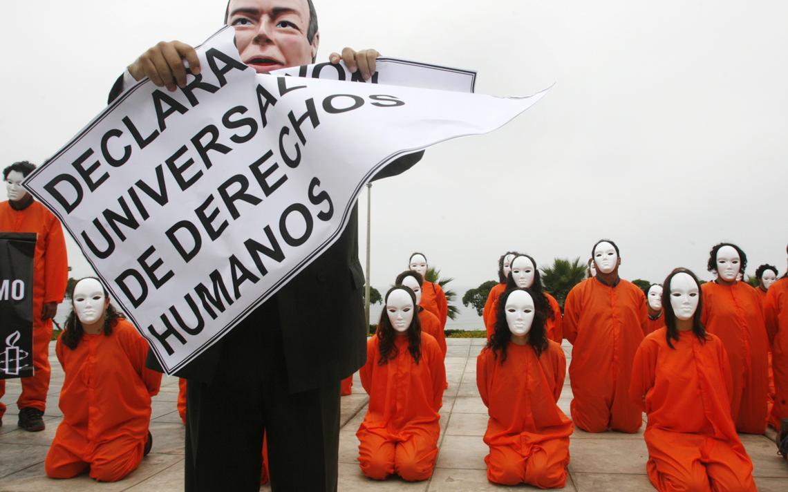 Protesto da Anistia Internacional