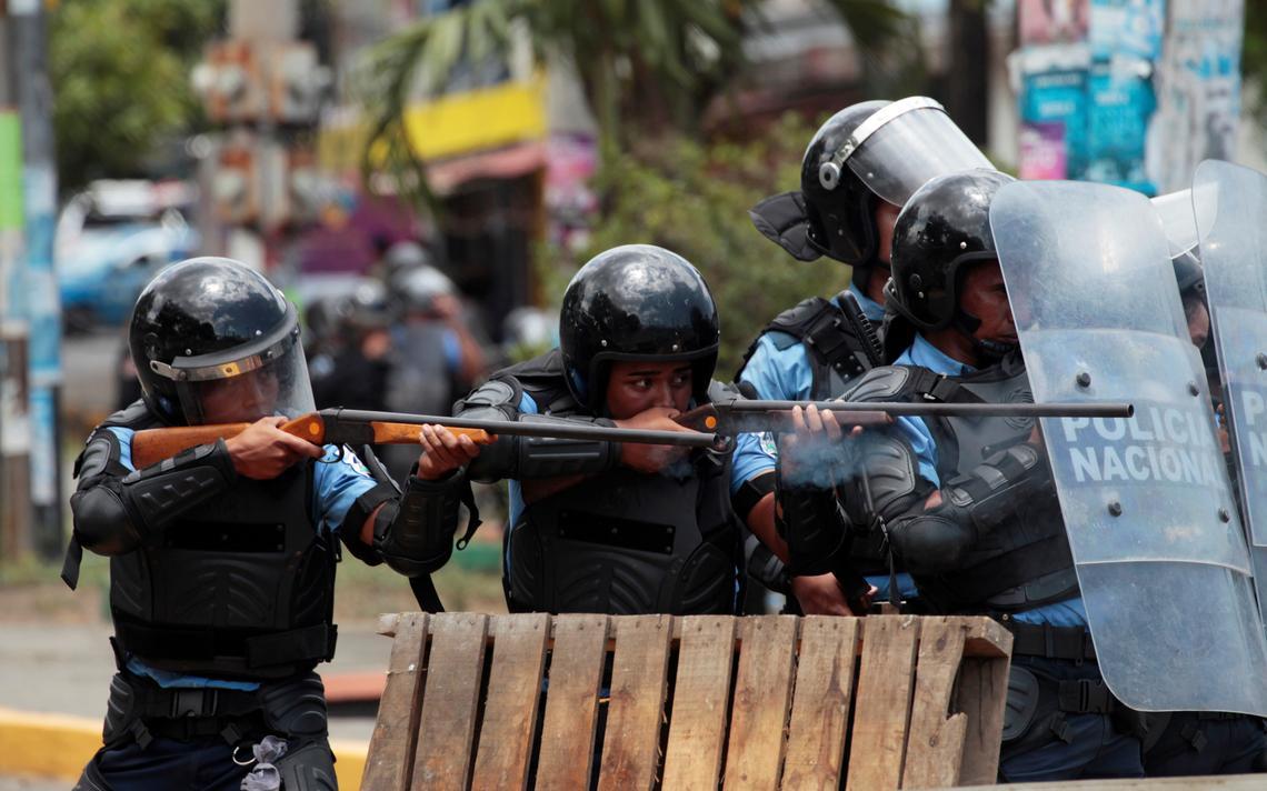 Polícia Nicarágua