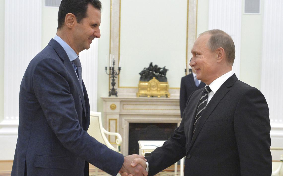 Assad encontra Putin